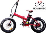 Fat Tire 20inch Bike Folding Electric Bicycle with Rear Motor