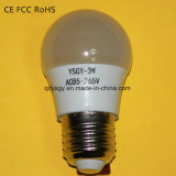 3W LED Bulb Light with Aluminum & Eco Plastic Material