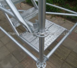 Erecition Stable Galvanized Ringlock Q345 Q235 Steel Scaffold Material Construction for Sale