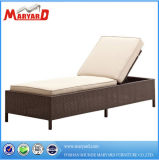 Rattan Outdoor Sunbed with Cushion