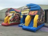 New Cheap Minions Inflatable Jumping Bouncy Castle