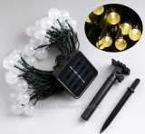White Color Battery Operated LED Ball String Light