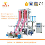 Double Head Plastic Bag Making Film Blowing Machine Set