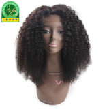 Glueless Lace Wig Afro Kinky Curly Human Hair Wig with Top Closure