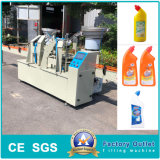 Automatic Disinfectant Bleaching Soap Toilet Cleaner Plugging Capping Bottling Filling Machine