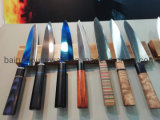 Stainless Steel Kitchen Knife with G10 Handle No. G-108K