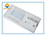 Ce Certificated 15W Solar Integrated Street Light with High Quality