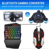 High Quality Wholesale Cheap Rainbow Light 35 Buttons Backlit Gaming Keyboard