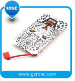 Wholesale OEM Built-in Cable Promotion Gift Power Bank 5000mAh