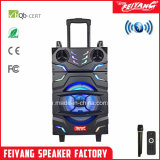 New Style 12 Inch Rechargeable Big Power Lound Portable Bluetooth Trolley Speaker-F12-22