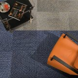Sisily-1/12 Gauge Office Carpet Loop Pile Jacquard Carpet Tile with Bitumen Back /W Thick Non-Woven Cloth