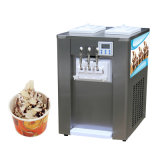 Self-Cleaning Soft Ice Cream Machine with Precooling System