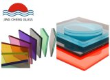 6.38mm/8.38mm/10.38mm/12.38mm Tempered Clear and Color Laminated Glass