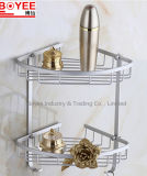 Wholesale Waterproof Aluminum Alloy Bathroom Shampoo Rack