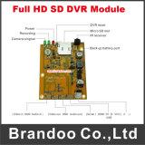 1CH 1080P SD DVR Module Support 128GB Micro SD Card