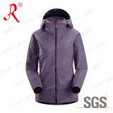 New Style Women′s Ski Jacket Soft Shell Jacket (QF-437)