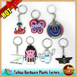 Promotion Custom Rubber PVC Keychains (TH-9104)