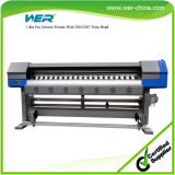 1.8m with 2PCS Dx5 1440dpi Print Heads with 1440 Dpi Resolution Flatbed Printer