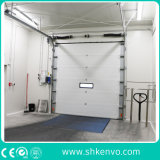 Industrial Automatic Overhead Steel Insulated Vertical Lifting Sliding Roll up Metal Sectional Garage Door for Warehouse or Factory or Loading Docks or Bays