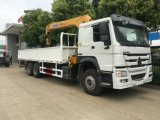 Top Sale Sinotruk HOWO 6X4 Crane Truck with Telescopic Crane or Folder Crane for Sale