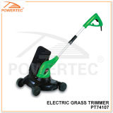 Powertec 710W Electric Grass Trimmer with Trolley (PT74107)