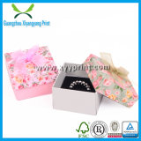 Custom Paper Jewelry Ring Packaging Box with Colorful Printing
