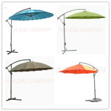 10FT Fiber Glass Parasol with Crank-Parasol Outdoor Garden Umbrella