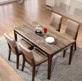 Solid Wooden Dining Table Living Room Furniture (M-X2414)