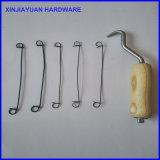 Bag Tie Tool Wooden Handle Wire Twister Hook