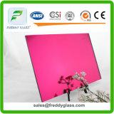 1.5mm Rose Hermosa Color Reflective Mirror/Colored Aluminum Mirror/Thin Tinted Silver Mirror/Decorative Mirror