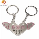 Wholesale Heart Metal Keychain for Lover Made in China