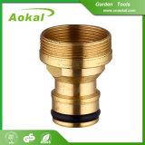 Brass Fitting Expandable Garden Hose Brake Reusable Brass Hose Fitting