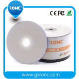 50PCS Shrink Wrap Package DVD-R White Printable Grade a