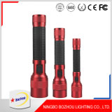 Torch Light LED Flashlight, Aluminum Red LED Flashlights