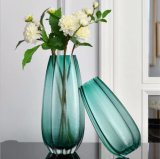 High Quantity Hand Made Colorful Table Glass Vase for Home and Garden Decoration