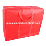 Extra-Large Non-Woven Beddings Blanket Clothes Sundries Organizer House Moving Bag