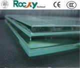 4.38mm 6.38mm 10.38mm 20.76mm Tempered Safety PVB Laminated Glass for Balcony