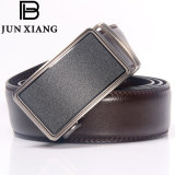 High Quality Automatic Buckle Belt Brown Cow Men Leather Belts