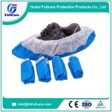 Wholesale Cheap Disposable PE CPE Plastic Nonwoven Medical Waterproof Anti Skip Shoe Cover
