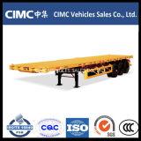 Cimc 3 Axle 40FT Flatbed Semi Trailer Truck Trailer Tractor Trailer