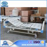Bam302 Wholesale Aluminim Alloy Handrails Three Cranks Manual Hospital Patient Bed