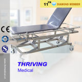Stainless Steel Patient Transfer Stretcher Cart (THR-E-5)