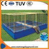 Customized Design Outdoor Trampoline Sports Children Trampoline Equipment (WK-T180601)
