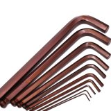 9PCS Plastic Holder S2 Hex Key Wrench Set Hand Tool