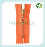 Automatic Lock Metal Zipper 3# 4# 5# #7 8# 10#