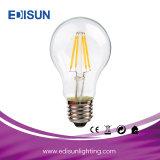 Best Price A60 7W E27 6PCS Filamnet LED Bulb Light