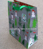 Quality Customize Christmas Printing Art Paper Bag Promotional Gift Bag