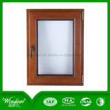 Hotel Using Cold Resistant Aluminum Wood Compand Window with Various Designs