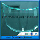 Hot Sale Single Curved Toughed Glass