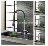 Single Handle Chrome LED Kitchen Faucets SD0332